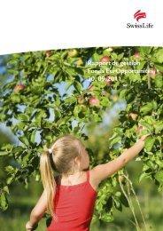 Rapport de gestion Fonds EurOpportunités 30. 09.2011