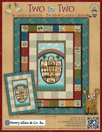 ©2012 Henry Glass & Co.,Inc. - 3 Dudes Quilting