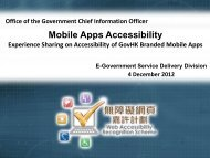 Mobile Apps Accessibility