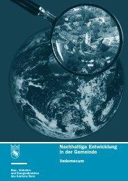 Nachhaltige Entwicklung in der Gemeinde Vademecum - Lokalen ...