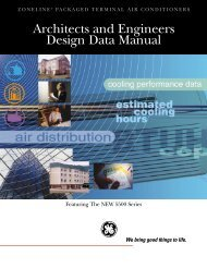 Architects and Engineers Design Data Manual - GE Appliances