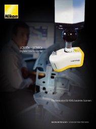 LC60Dx - LC50Cx - Nikon Metrology