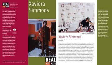 RAW Simmons - Real Art Ways