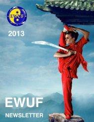 NEWSLETTER - European Wushu Federation