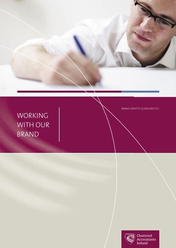 Chartered Accountants Ireland Full Brand Mark Guidelines