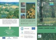 Gozdovi, travniki in polja - Zavod RS za varstvo narave