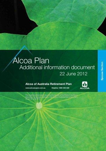 Alcoa Plan - SuperFacts.com