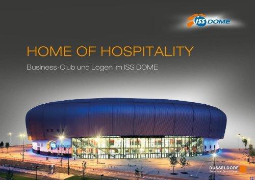 Image Broschüre Hospitality - ISS Dome