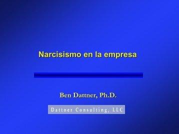 Narcisismo en la empresa - Dattner Consulting