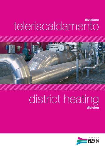 Brochure Teleriscaldamento - Il Gruppo Hera