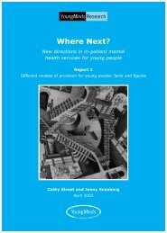 Where Next 1 Final Version - YoungMinds