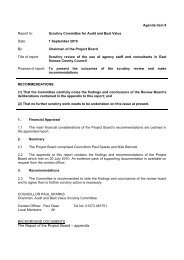 Agenda Item - East Sussex County Council