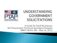 Understanding and Responding to Government Solicitation