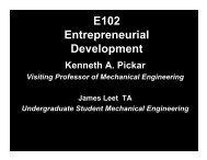 Lecture 1 Introduction - Ken Pickar - Caltech