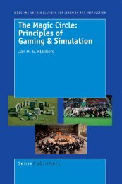 Principles of Gaming and Simulation - Department of the Arts ...