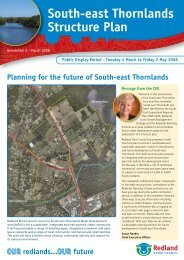 South-east Thornlands Structure Plan