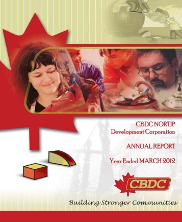 2012 Annual Report - cbdc nortip
