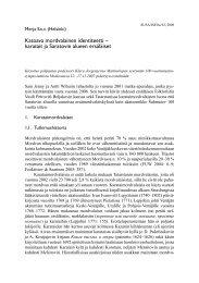 karatait ja Saratovin alueen ersäläiset - Suomalais-Ugrilainen Seura
