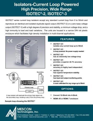 Isolators-Current Loop Powered - Delta Strumenti S.r.l.