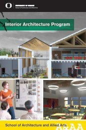 Interior Architecture Program Viewbook - Department of Architecture ...