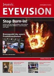 stop Burn-in! - Eyevis Gmbh