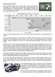 Steyr Daimler Puch AG Die Steyr-Werke fusionierten im Jahre 1934 ...