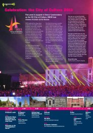 Celebration: the City of Culture 2013 - Discover Northern Ireland
