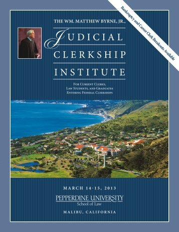 Download the Brochure Here - Pepperdine University School of Law