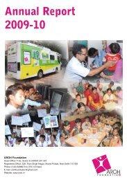 AR 09-10 2.pmd - Aroh Foundation