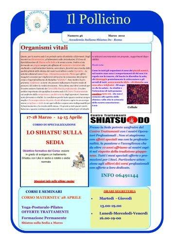 n°46 mar 2012 - Shiatsu in rete