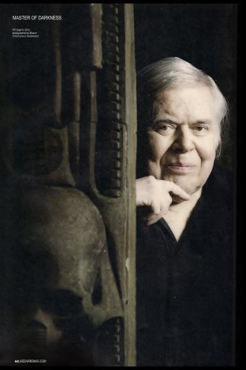 You Interrogate HR Giger Part 1 - the little HR Giger Page