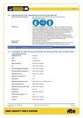 Sicherheitsdatenblatt - Innotec Österreich - Seite 5