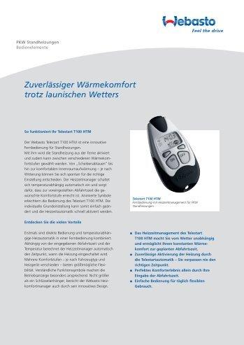 Webasto Telestart T100