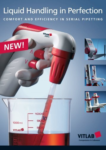 comfort and efficiency in serial pipetting