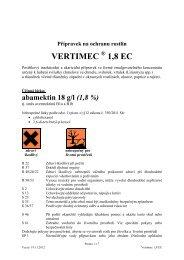 Vertimec 1,8 EC 2013 - Syngenta