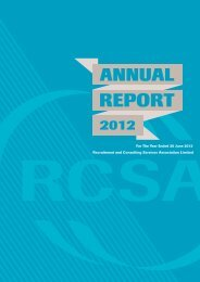 2011-2012 Annual Report - RCSA