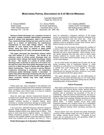 1997 PCIC Paper Draft - Iris Power Engineering