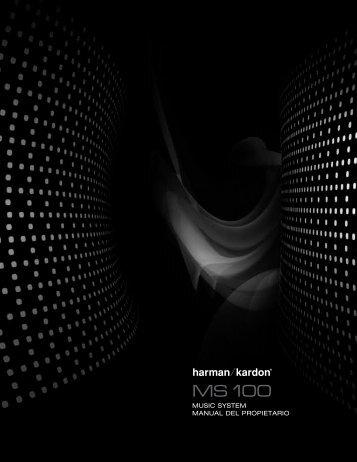 MUSIC SYSTEM MANUAL DEL PROPIETARIO - Harman Kardon