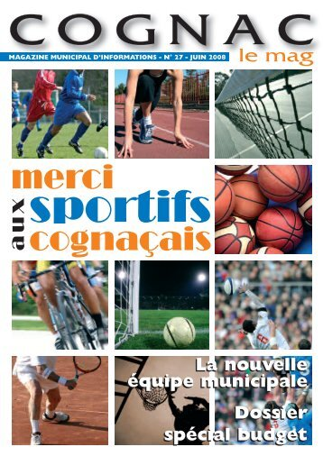 Cognac le mag juin 2008 - Ville de Cognac