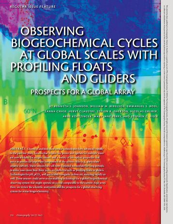 The Biogeochemical Cycling of Phosphorus    University     Biological Oceanography Group  Biogeochemical Cycles