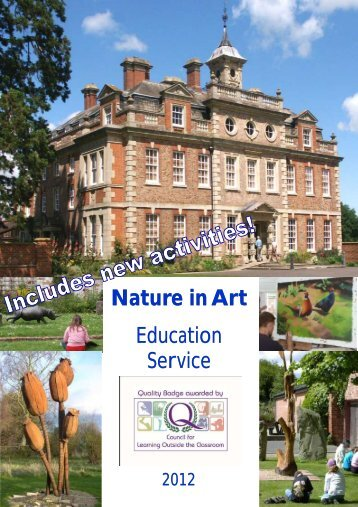 Welcome to Nature In Art Education Service