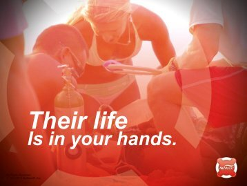 Their life Is in your hands. - NuMask