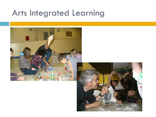presentation slides - Arts Education Partnership