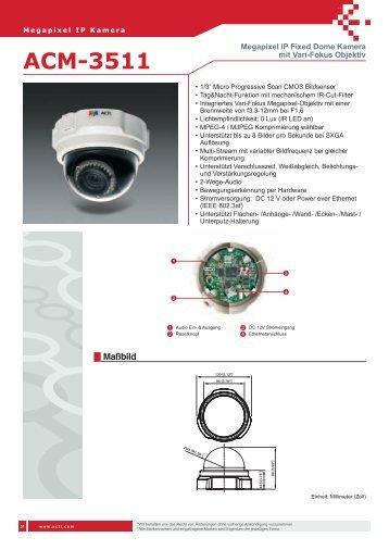 ACM-3511 - IP CCTV GmbH