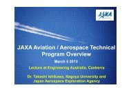 The presentation slides are available here. - Royal Aeronautical ...
