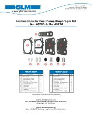 Pro Piston Kit Std Stbd Chrome Mercury 2.4L Bore Size 3.375 Chrome Bore 8666T42