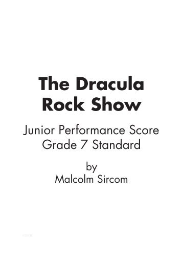 Performance Sample Score (Grade 7 Standard) - Musicline