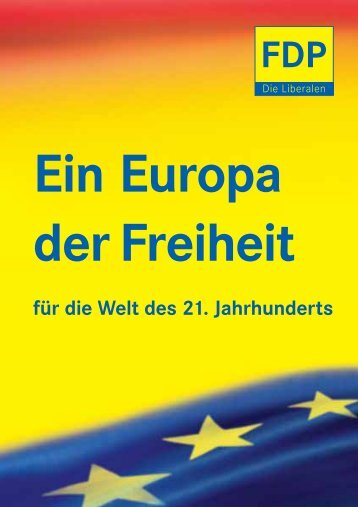 Ein Europa der Freiheit - FDP Essen