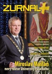 Třetí číslo magazínu Žurnál+ ke stažení - Univerzita Palackého v ...