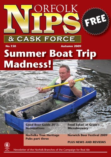 Summer Boat Trip Madness! - Norwich and Norfolk CAMRA